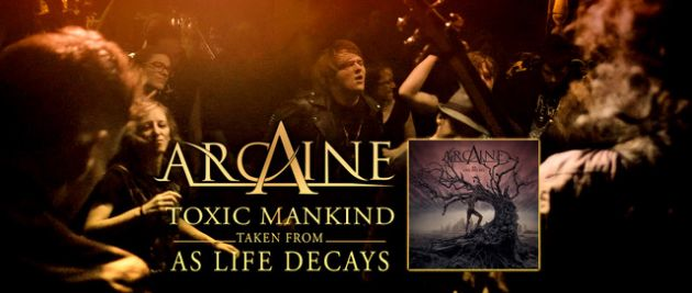 ARCAINE, video, Toxic Mankind, Heavy Metal, As Life Decays, New Album, Rockers And Other Animals, News