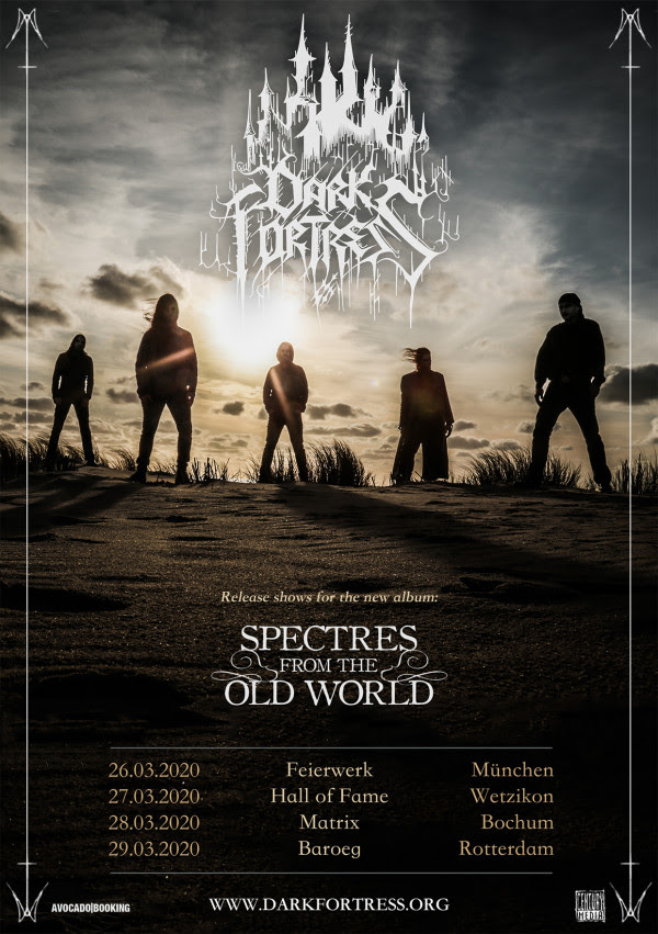 DARK FORTRESS, new video clip, Pali Aike, Spectres from the Old World, Century Media Records, black metal, rockers and other animals, news