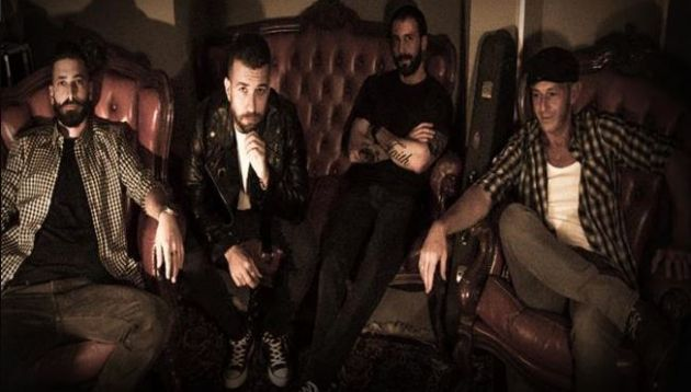 Lonesome Heroes, On Fire, Ghost Record Label, new album, punk rock, hard rock, news rocker and other animals