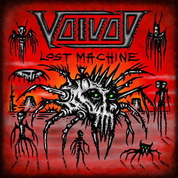 VOIVOD , Lost Machine - Live, single, video pre-order, rockers and other animals