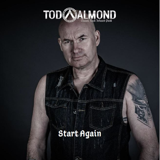 Tod Almond. rockers and other animals, Single, Start Again,Guitar, Driven Rock