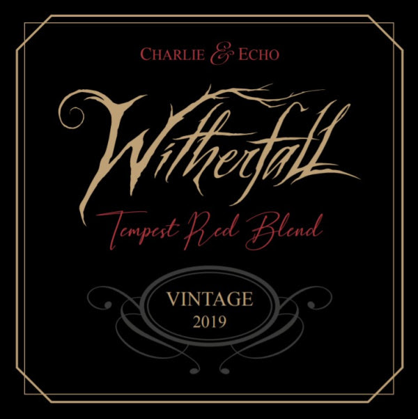 WITHERFALL , Tempest Red Blend Wine,  new album, Carlie & Echo, dark melodic metal, limited edition,  red blend wine, rockers and other animals, news