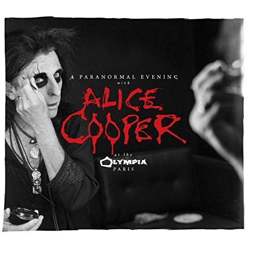 Alice Cooper, new live album 'A Paranormal Evening with Alice Cooper at the Olympia Paris'