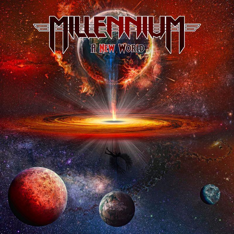 Millennium UK, new lyric video, World War 3, A New World, NWoBHM, rockers and other animals magazine