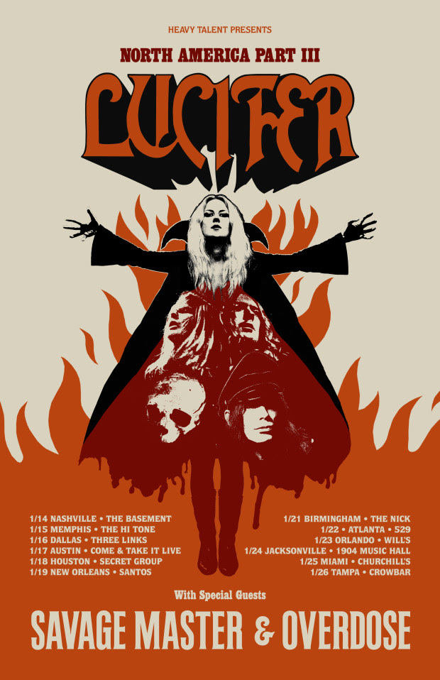 "LUCIFER, new record, ""Lucifer III"", Century Media Records, rockers and other animals, tour"