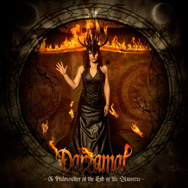 "DARZAMAT (black/gothic) is back with new record ""A Philosopher at the End of the Universe"" rockers and other animals"
