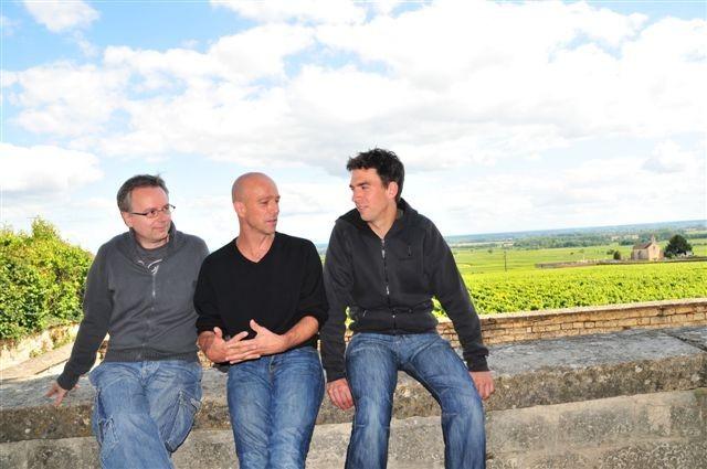 Francois, Pascal, Matthias - Weinfreunde unter sich