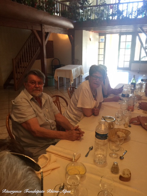 Armand fête joyeusement ses 25 ans de transplantation et nous offre une  délicieuse pogne de Romans...