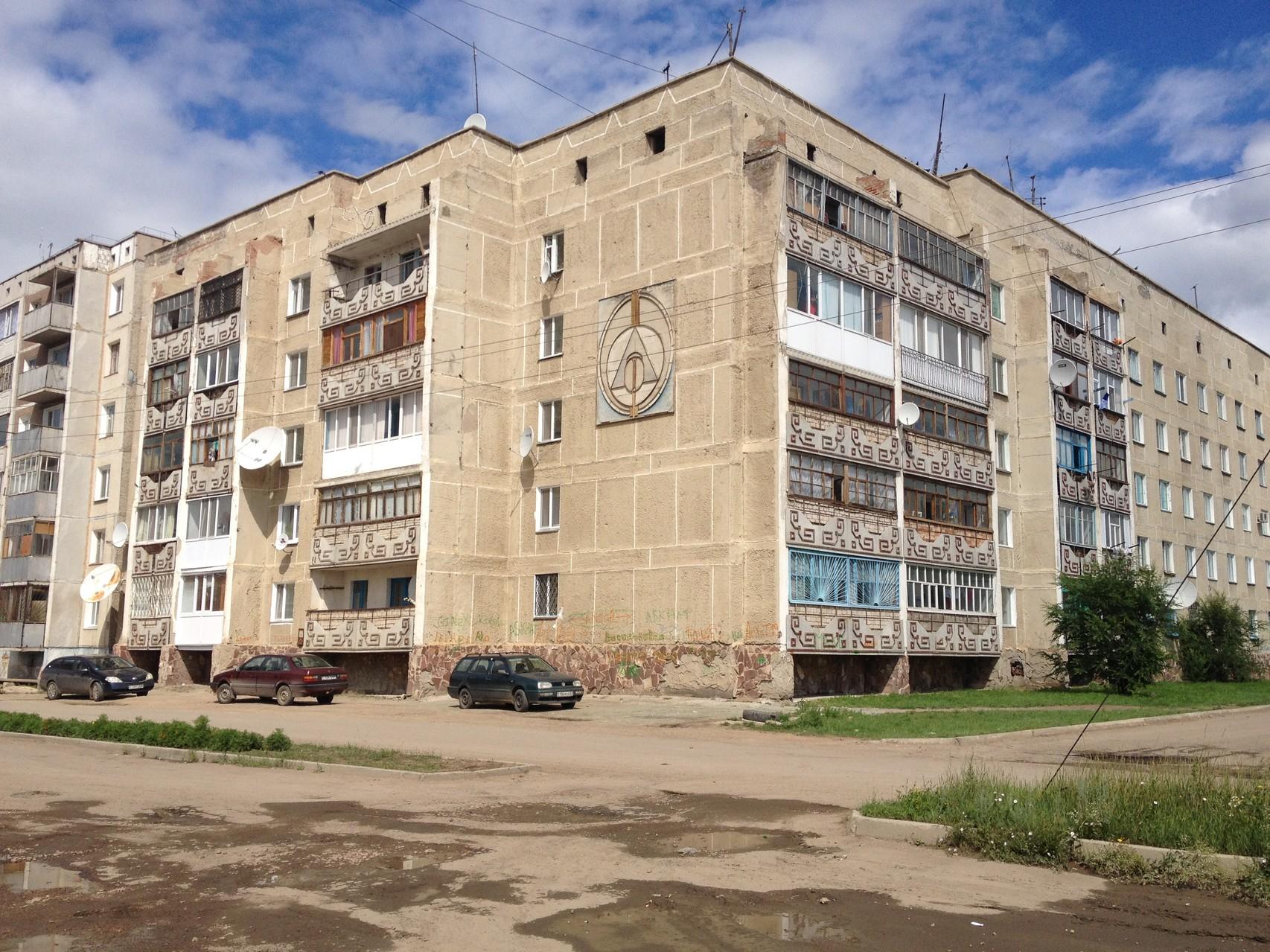 Russische Bauweise