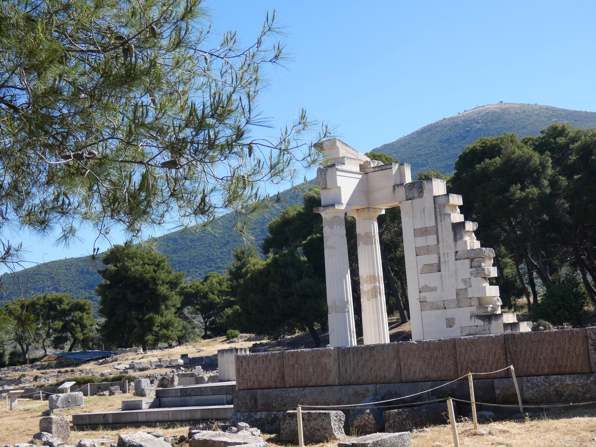 Epidauros, die Stadt