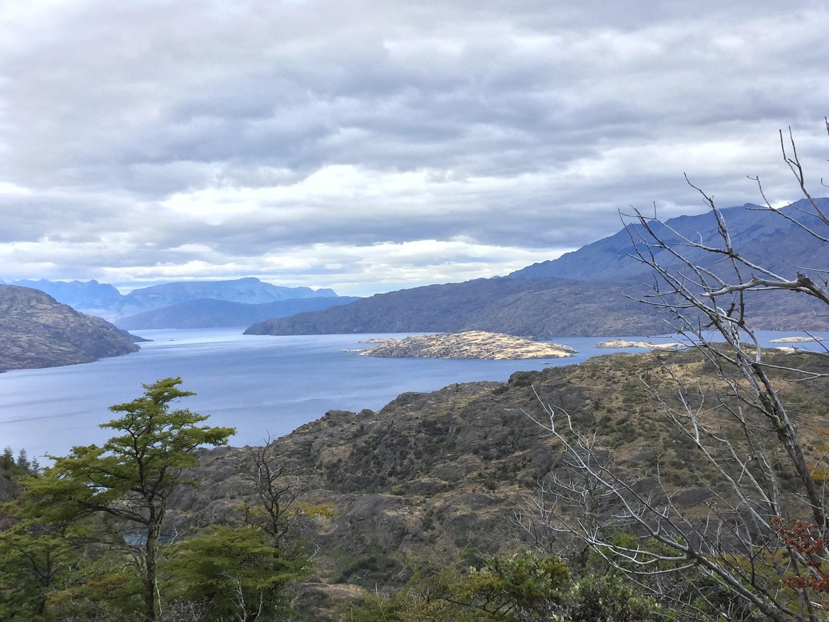 .... und den Lago Cochran