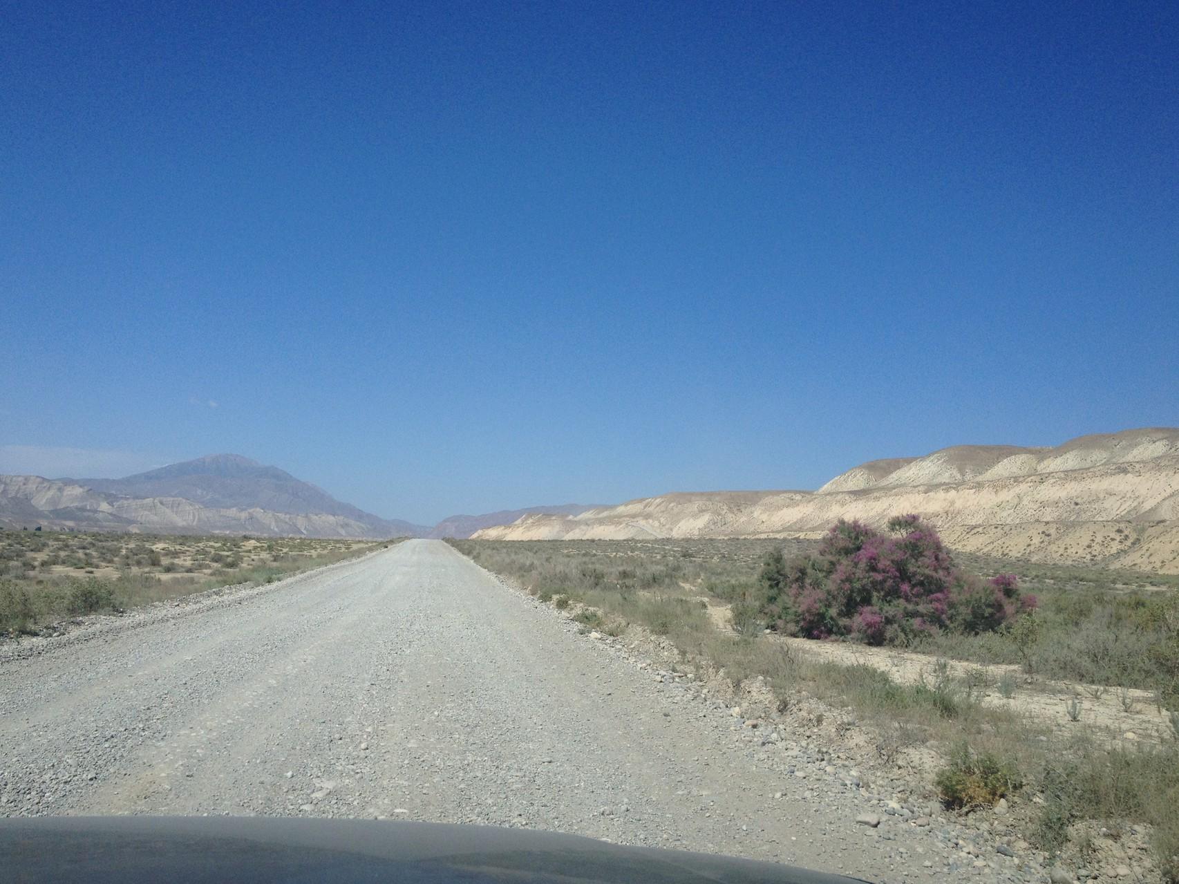 Unterwegs gegen Westen nach Kazarman
