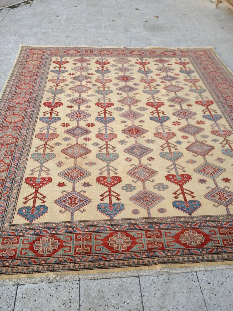 Unser neuer Teppich