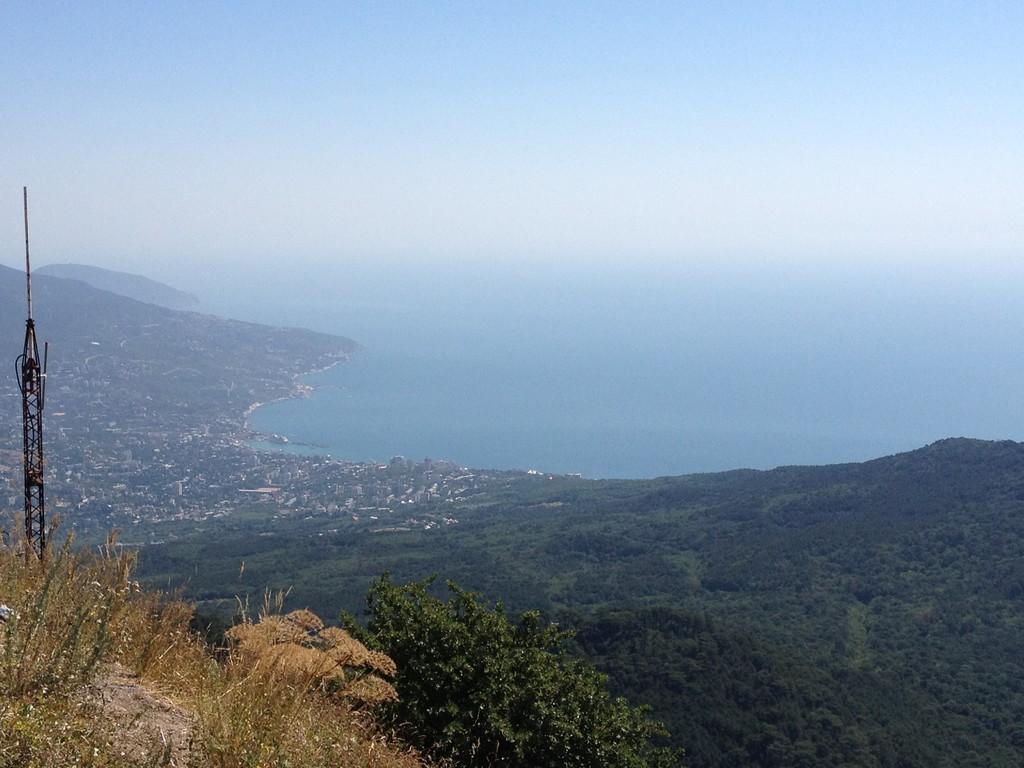 Sicht auf Yalta