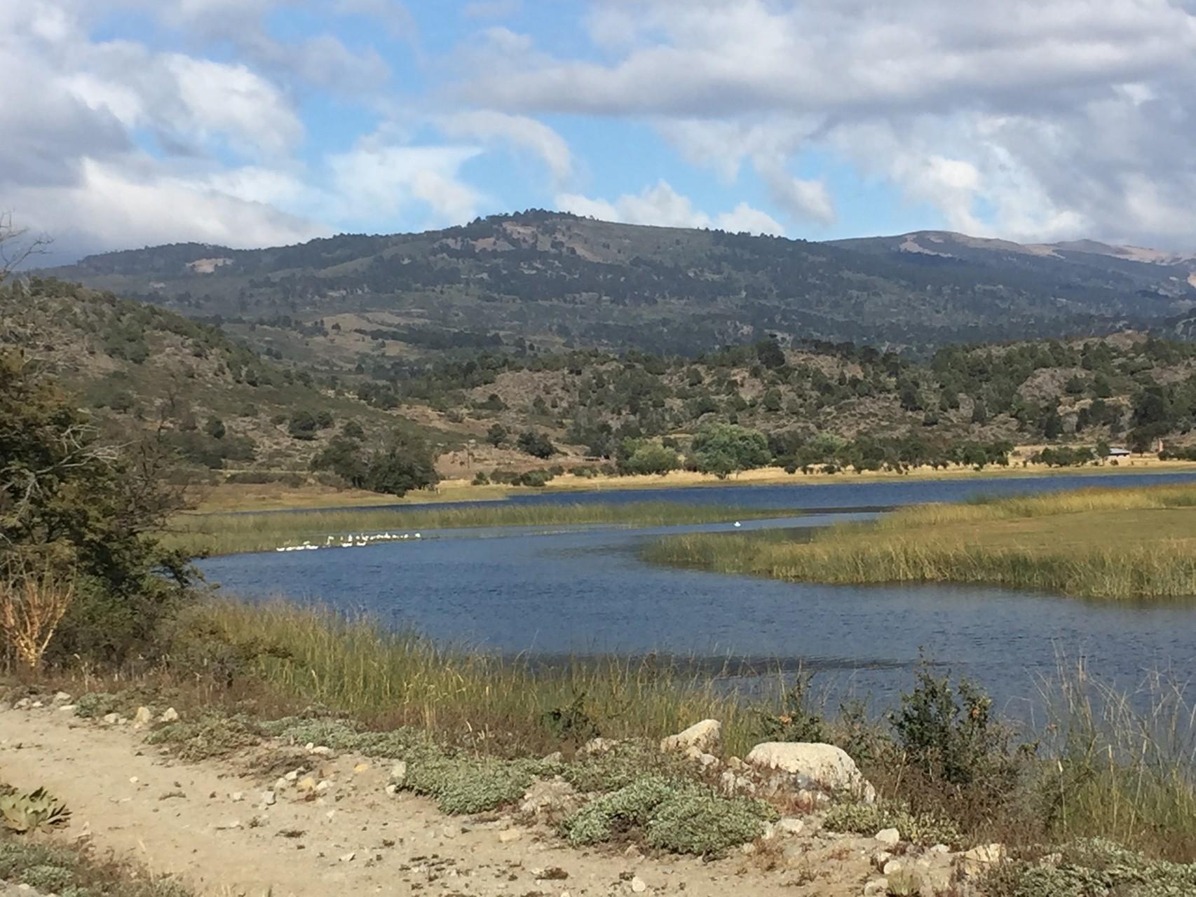 Weiterfahrt im Valle Aluminé