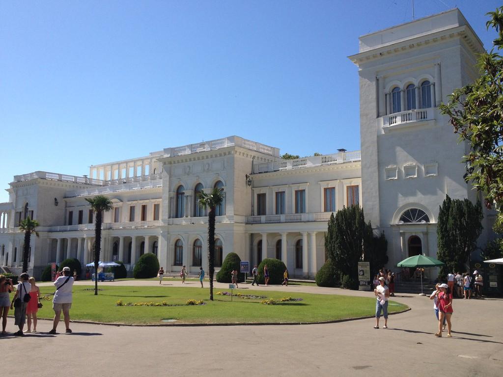 Hier wurde die Yaltakonferenz 1945 abgehalten