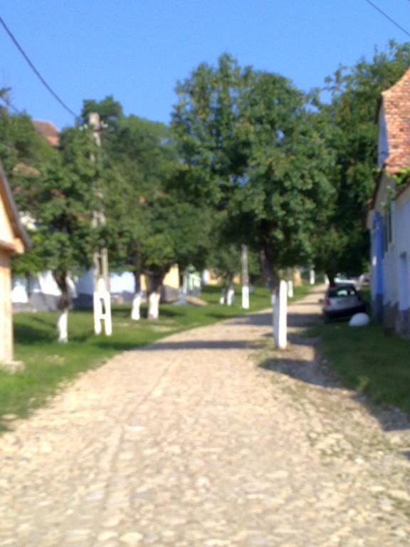 Auf dem Weg zur Wehrkirche Viscri