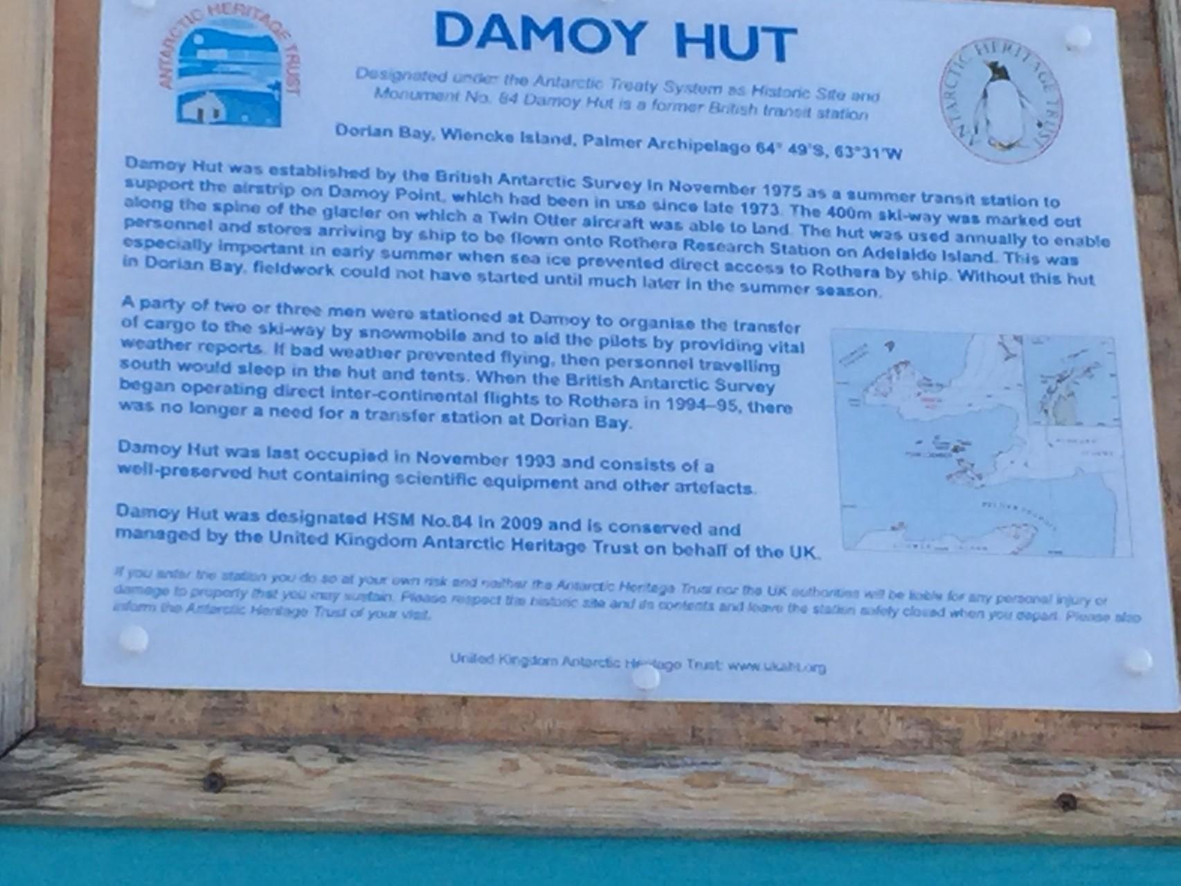 Damoy Hut