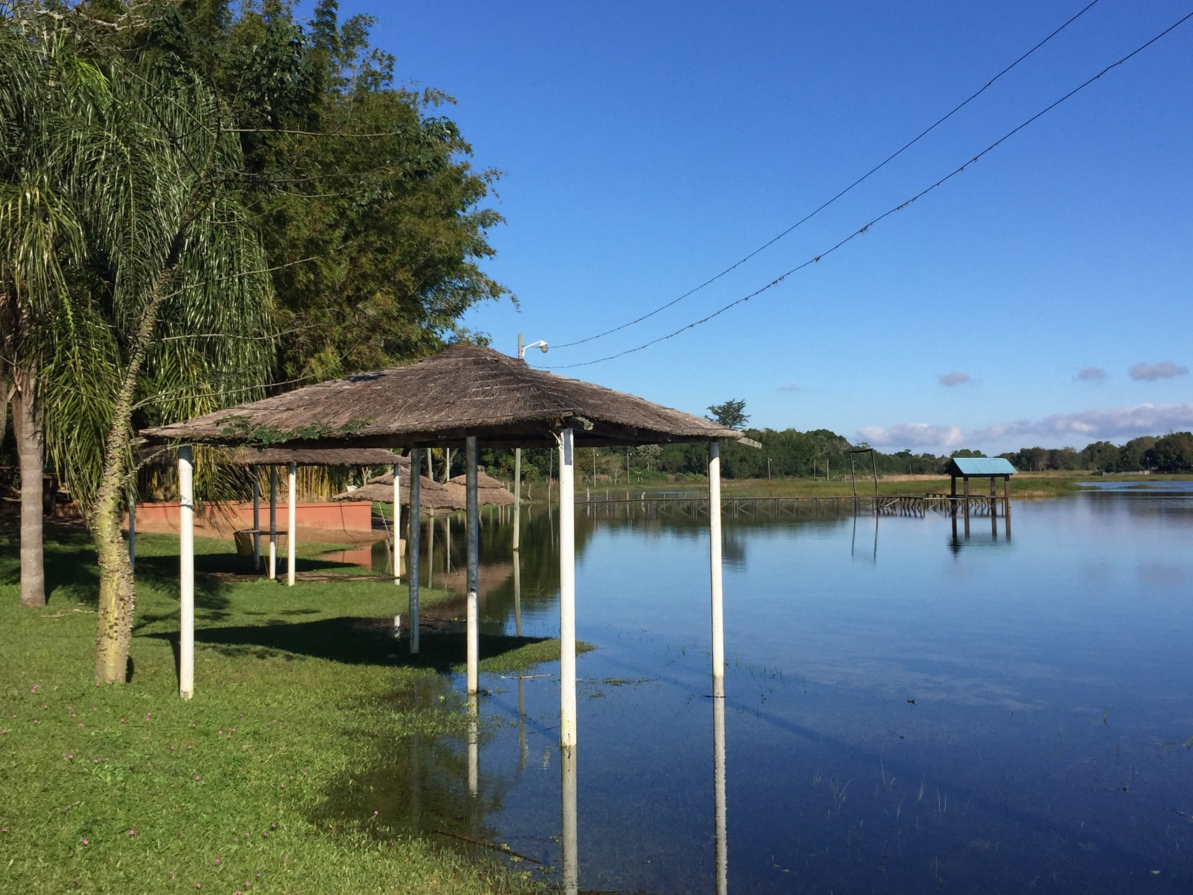 Übernachtungsplatz in Loreto