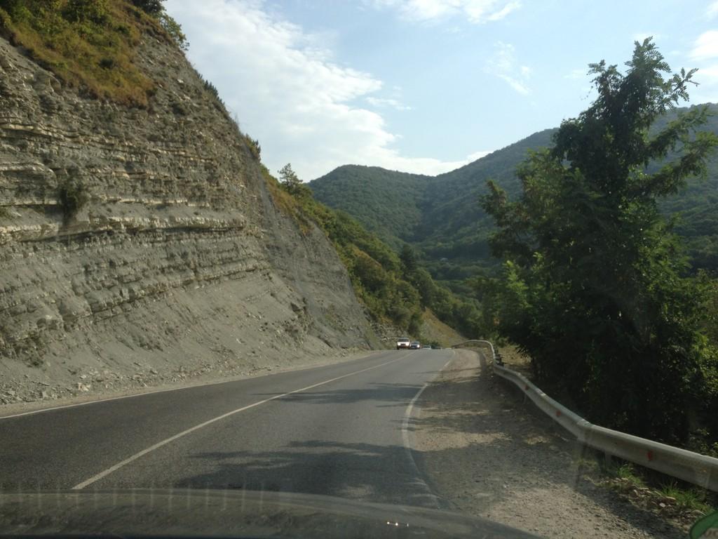Wunderbare Strassen, ausnahmsweise ohne Verkehr