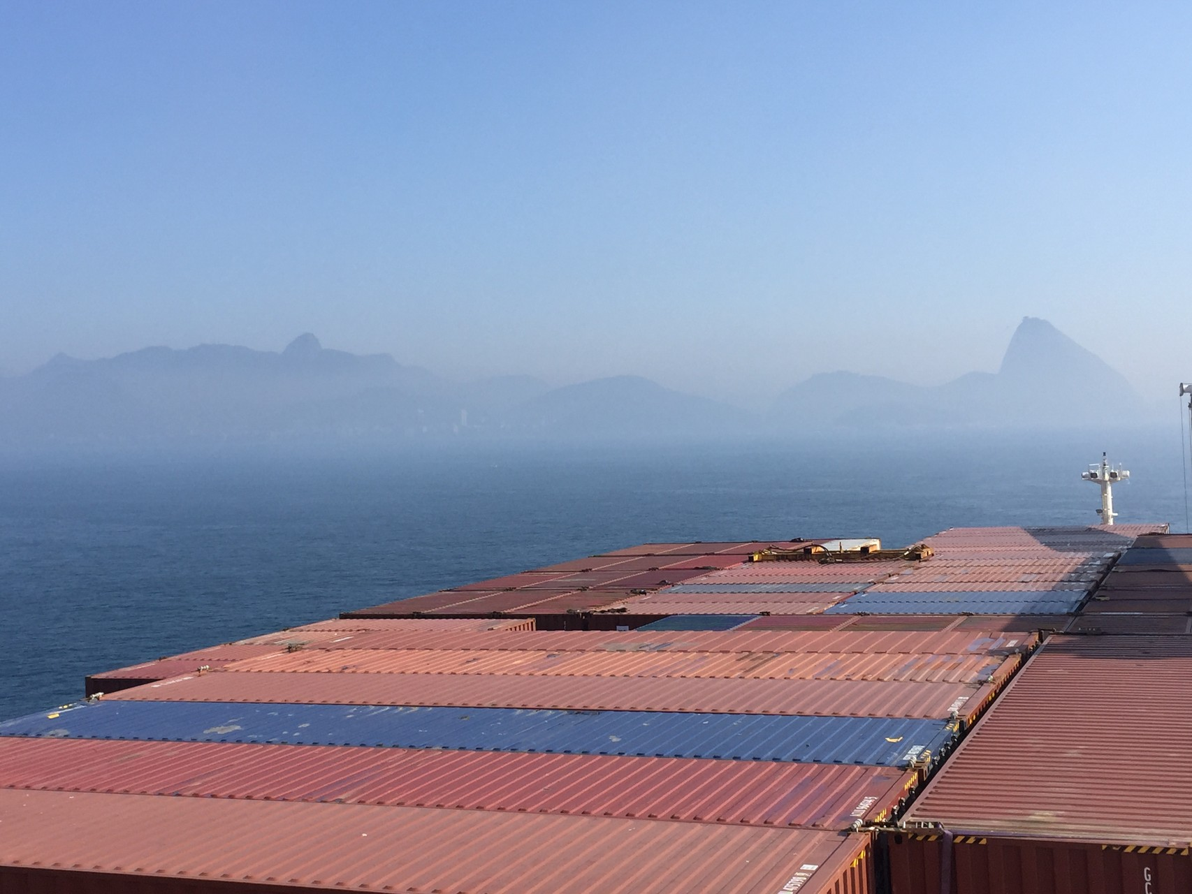 Hafeneinfahrt Rio de Janeiro