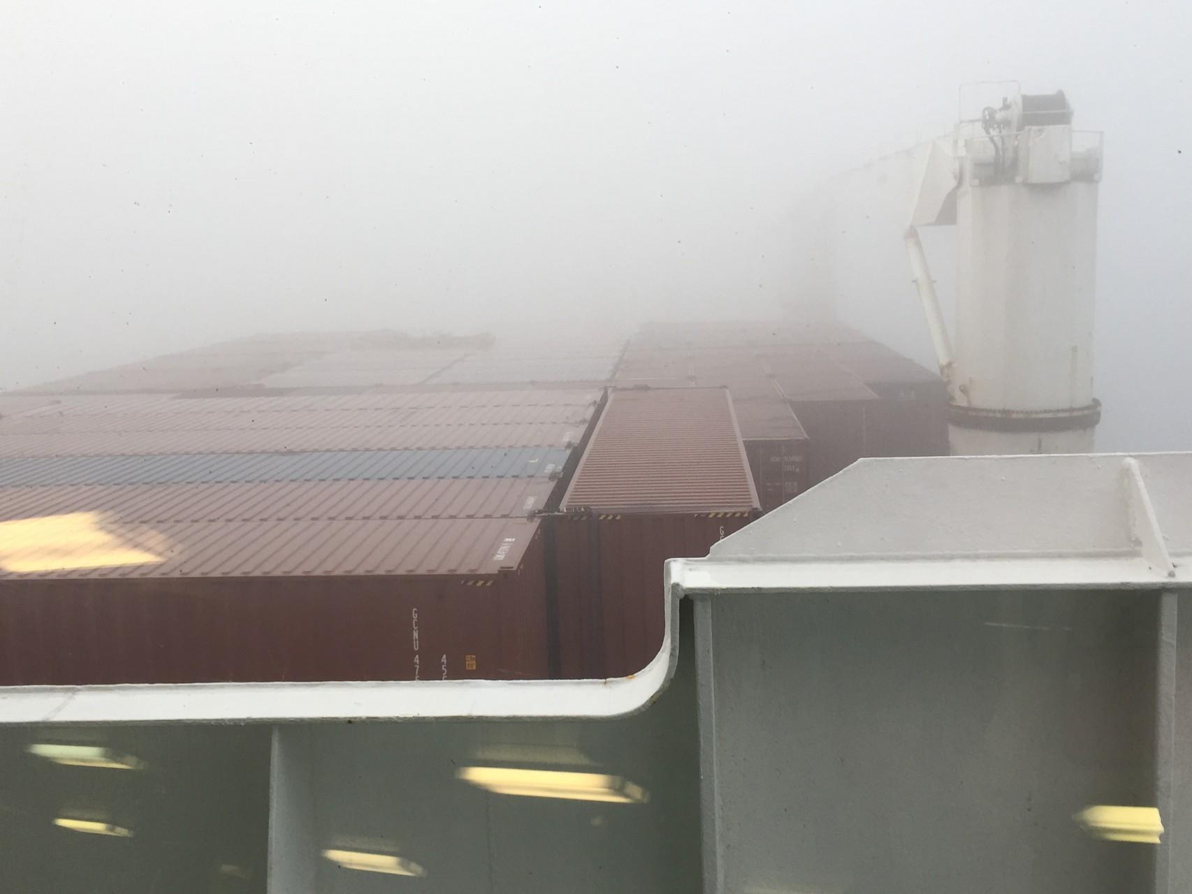 Nebel vor Rio de Janeiro