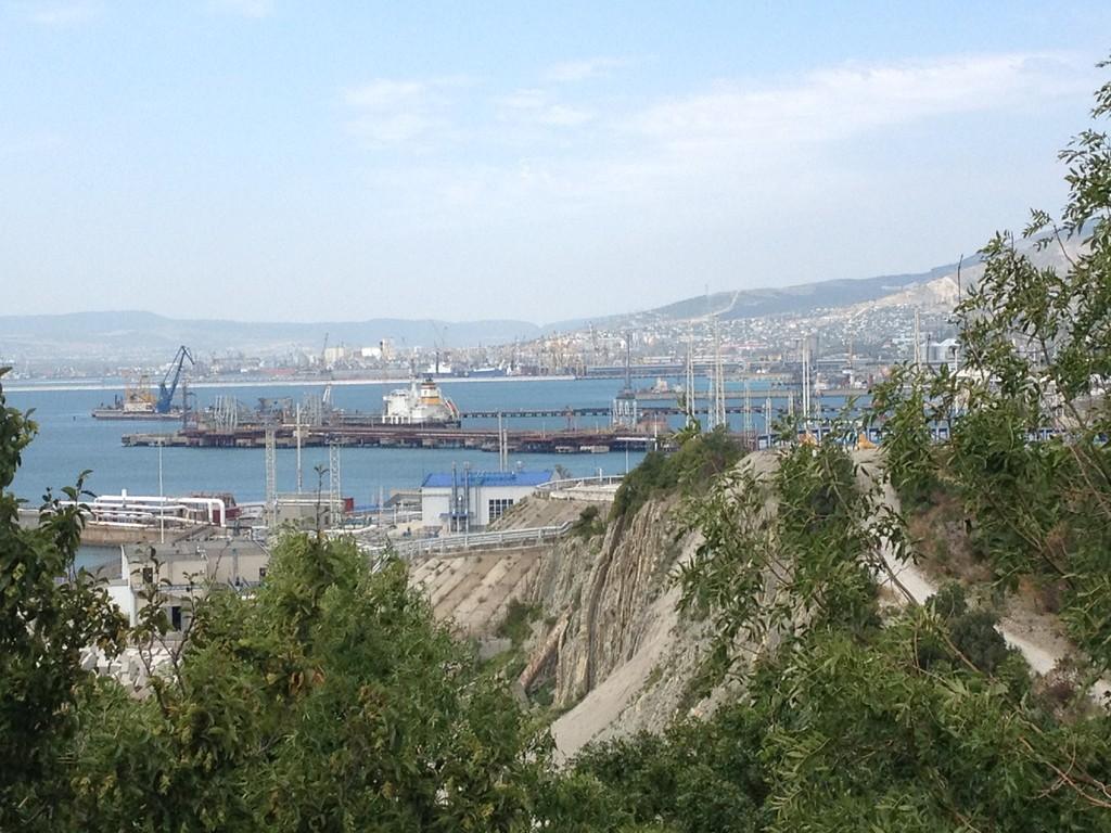 Der dazugehörige Hafen