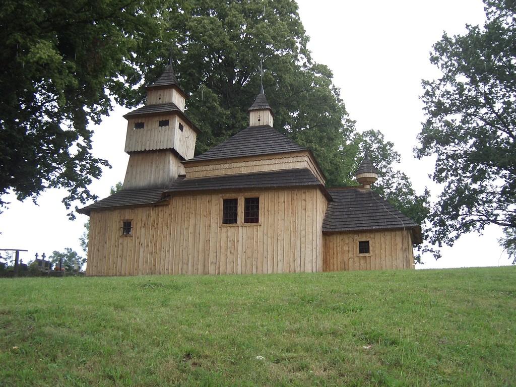 Im Osten der Slowakei finden wir einige leider verschlossene Artikularkirchen