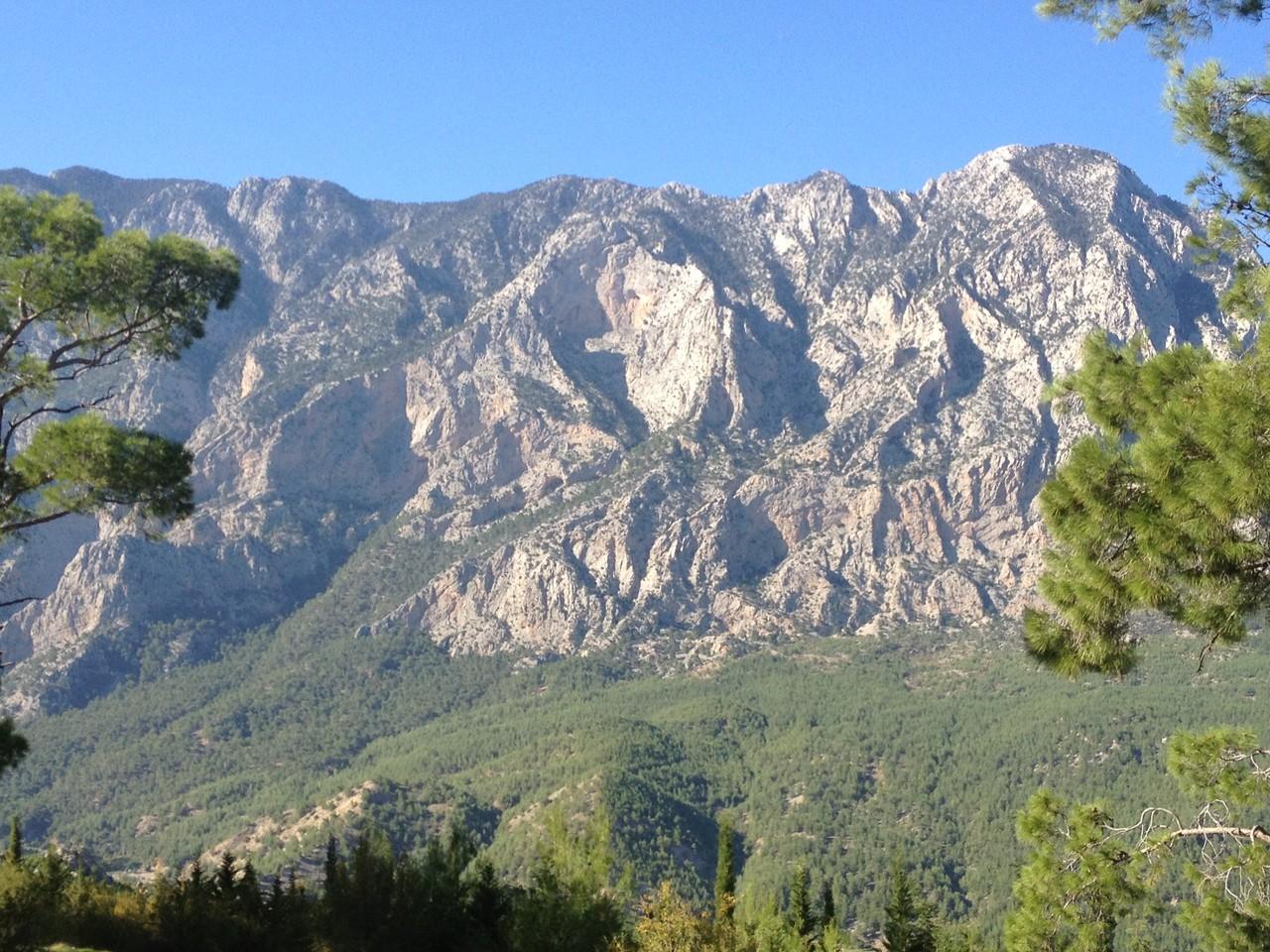 Im Hinterland südlich von Antalya
