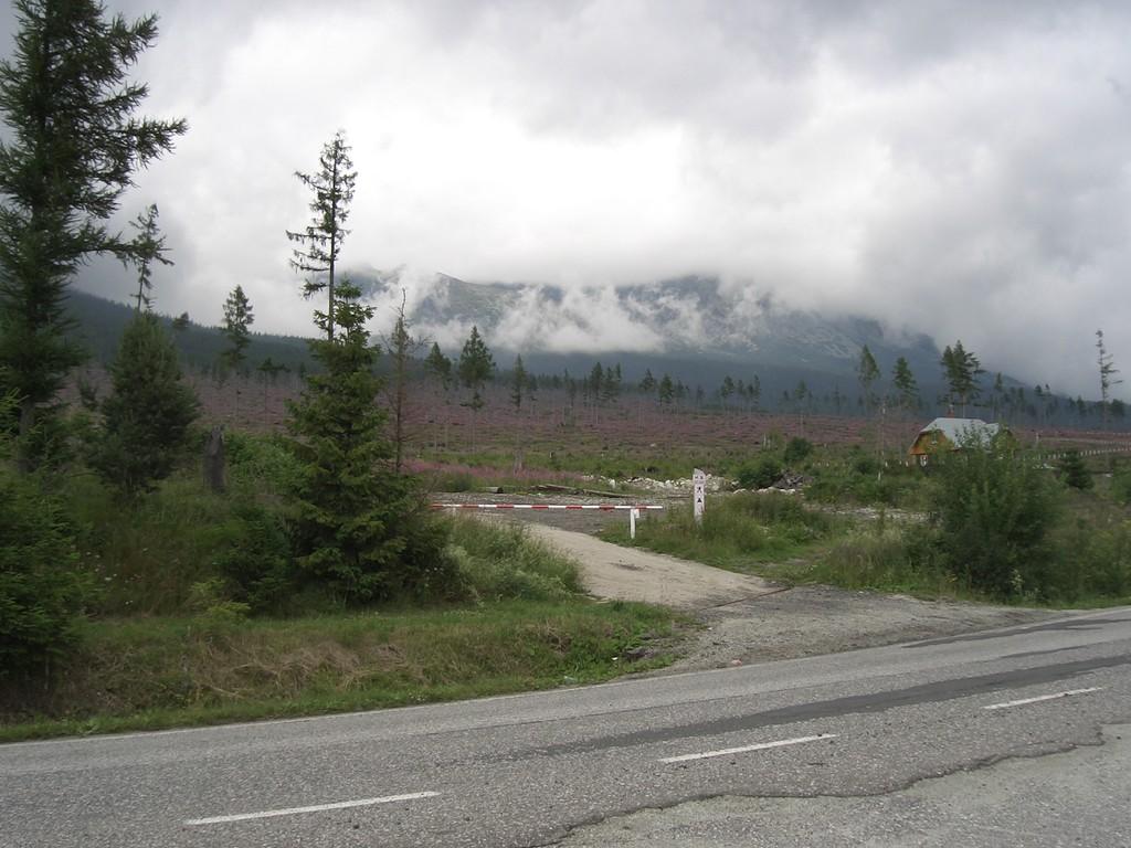 Hohe Tatra bei Vysoke Tatry, Sturmschäden