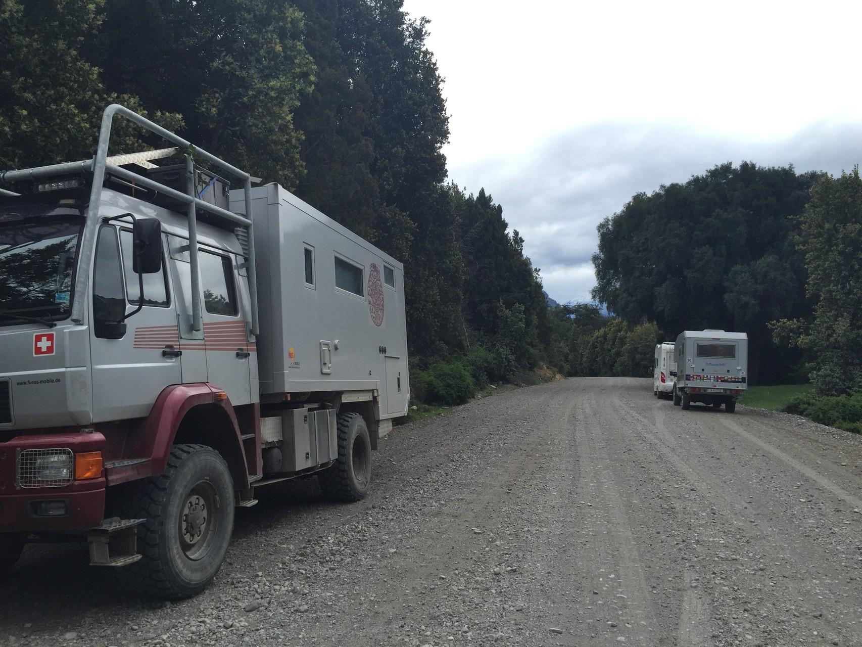 Drei Schweizer im Nationalpark Alerce
