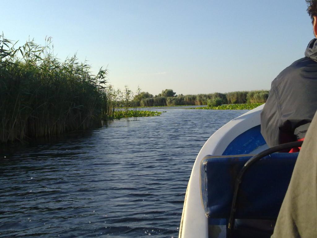 Fahrt ins Donaudelta