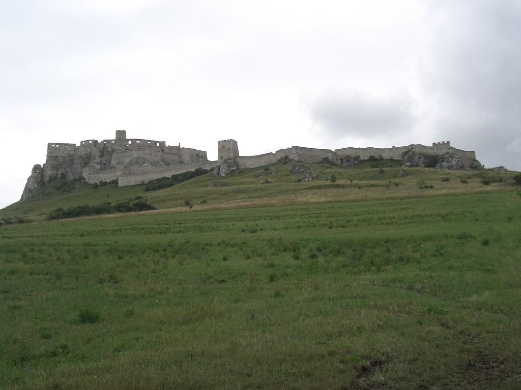 Zipserburg, einer der grössten Burgkomplexen Europas