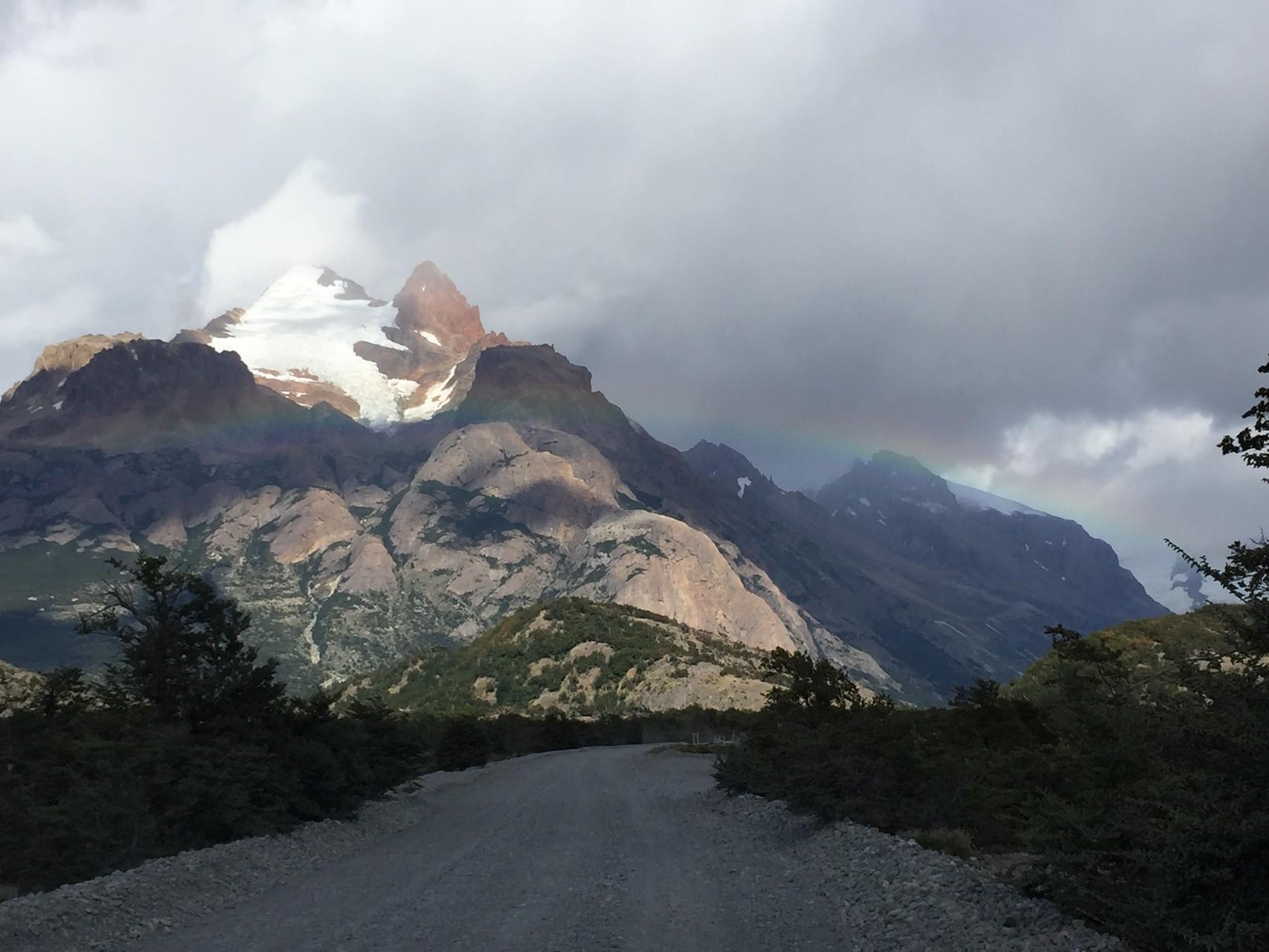 Auf dem Weg zum Lago Desearto