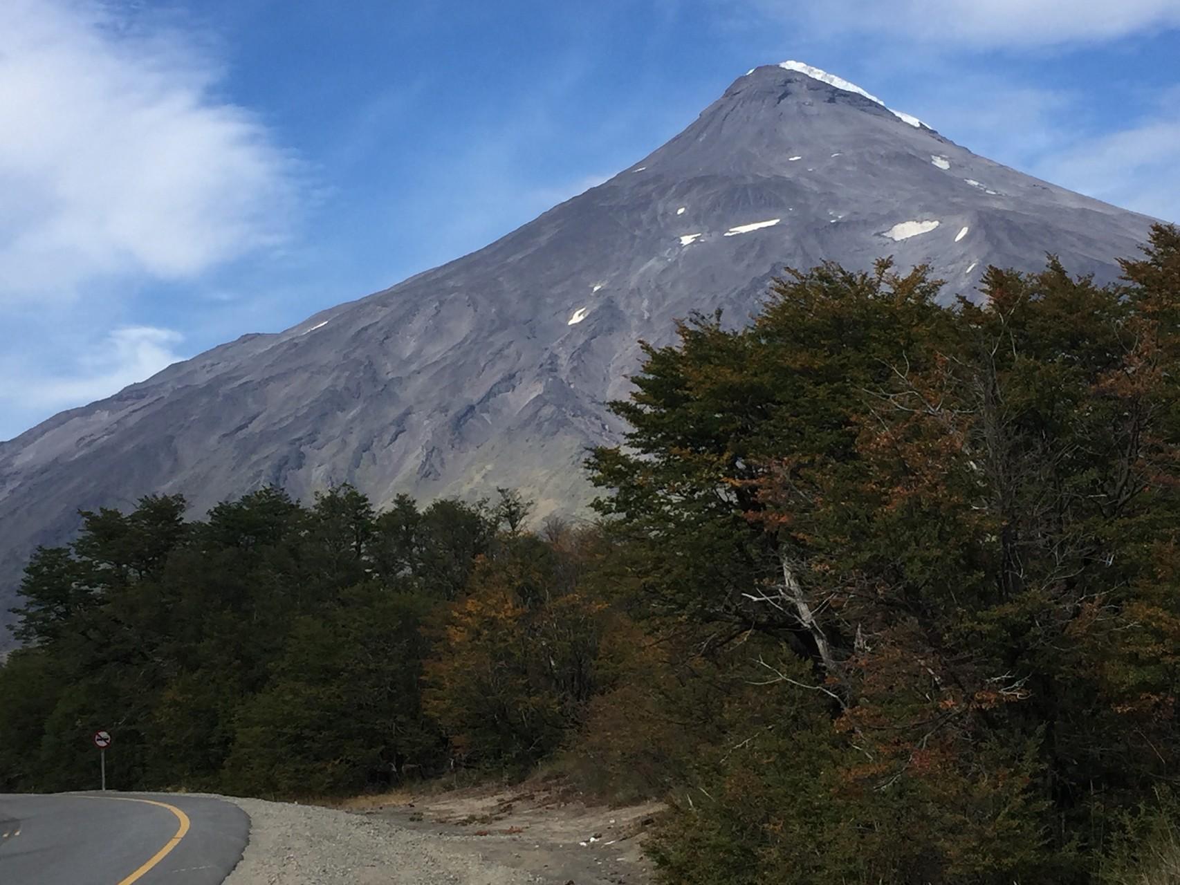 Erloschener Vulkan Lanin