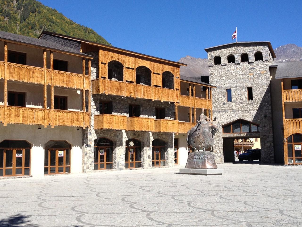 Mestia wird ausgebaut als Touristenort