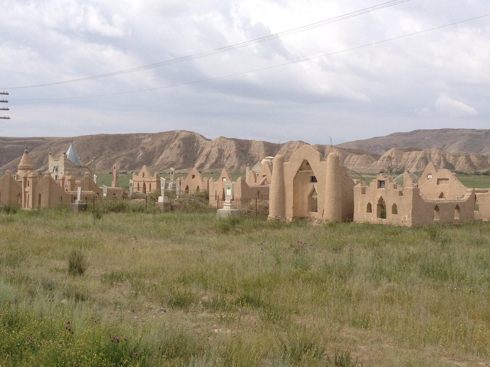 Ein Friedhof