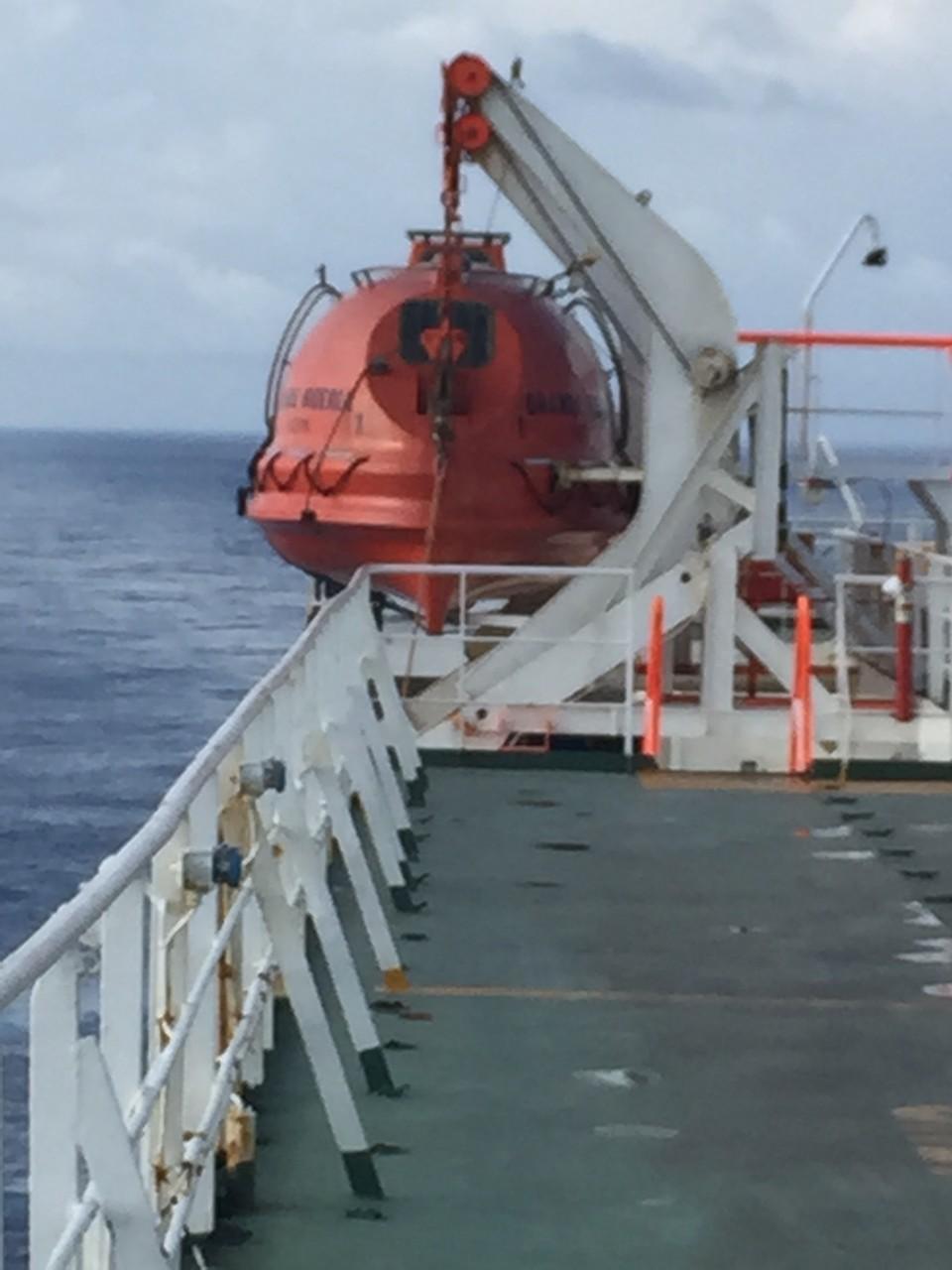 Unser Rettungsboot