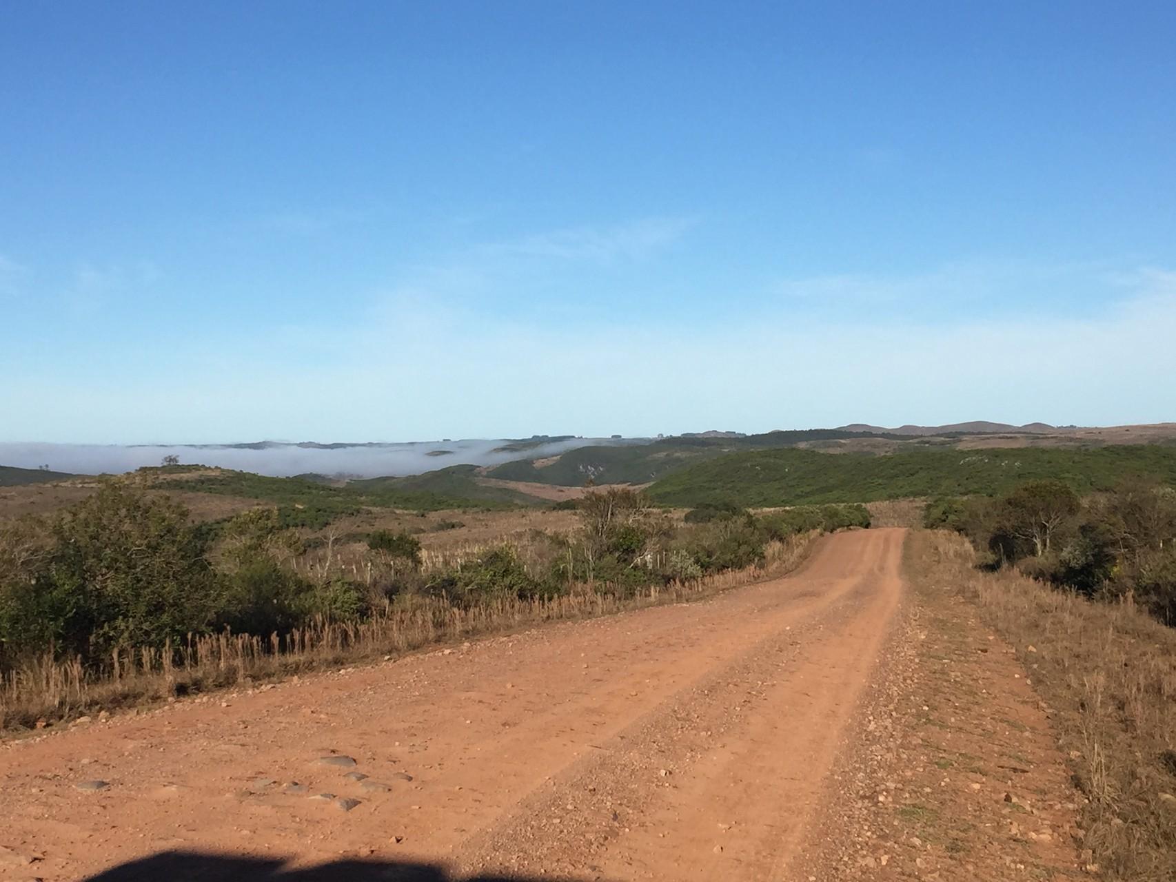 Vom Nationalpark Quebrada de los Cuervo nach Treinta y Tees