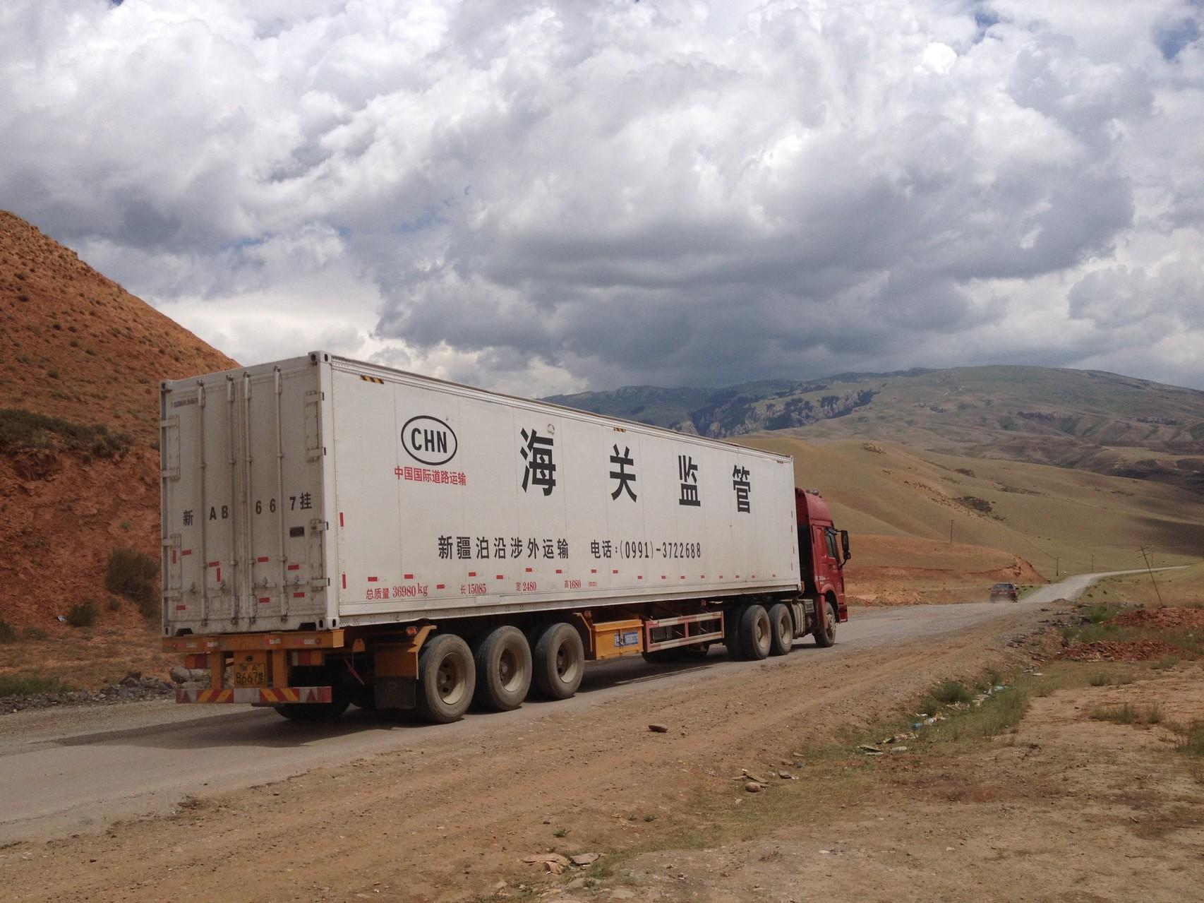 Chinesischer Lastwagen