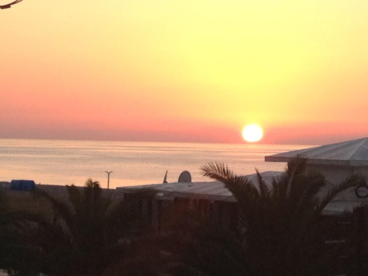 Sonnenuntergang in Batumi
