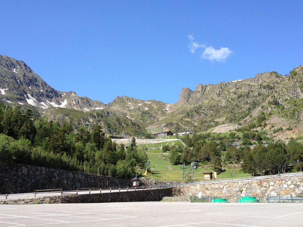 Herrliche Berge in Andorra