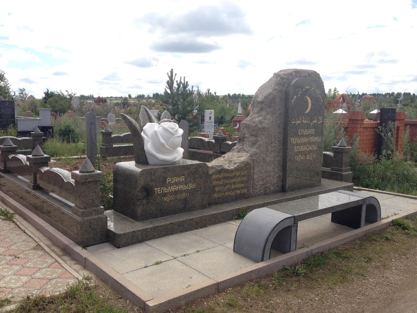 Moslemischer Friedhof