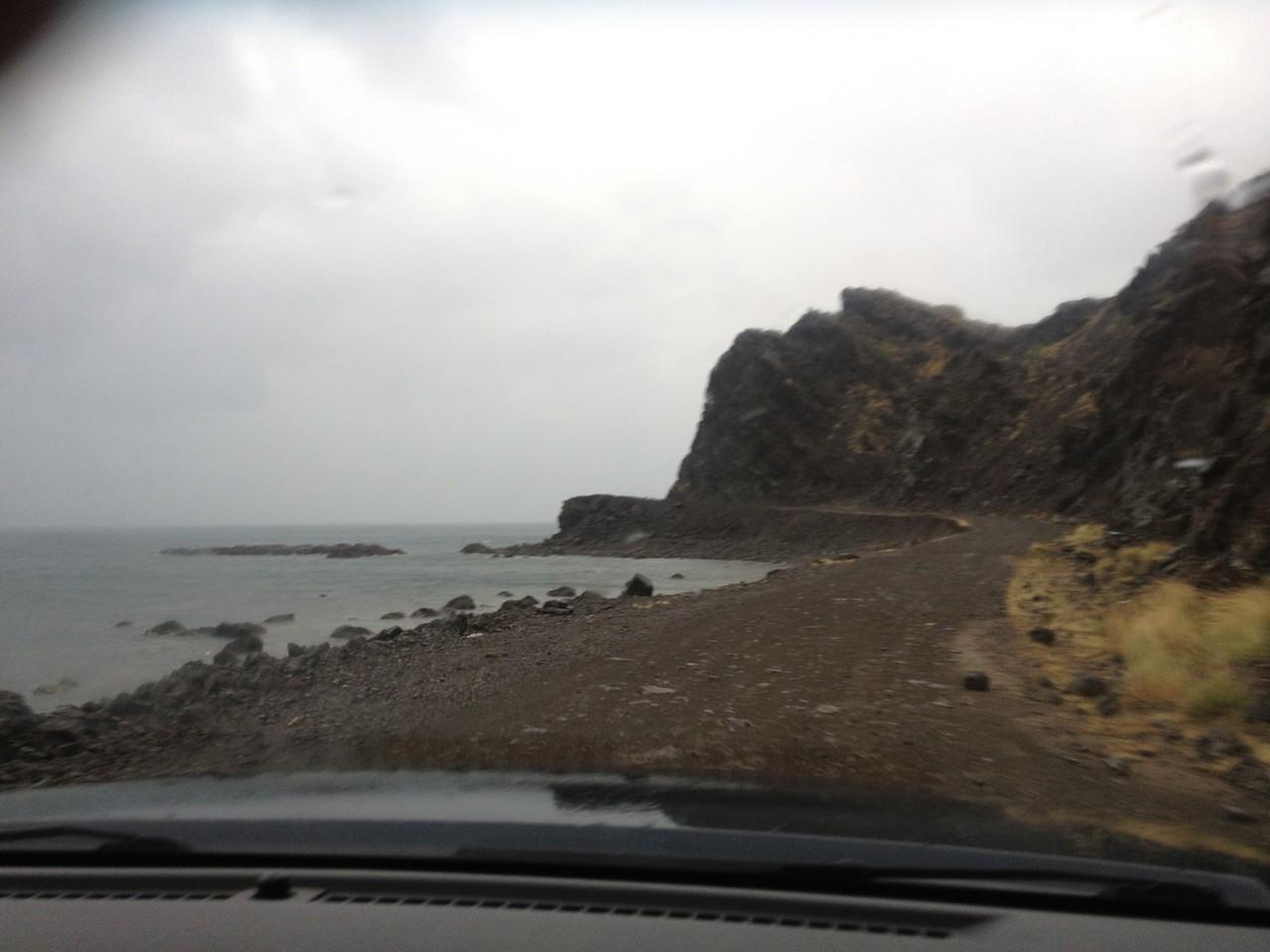 Tolle Küstenstrasse im Osten
