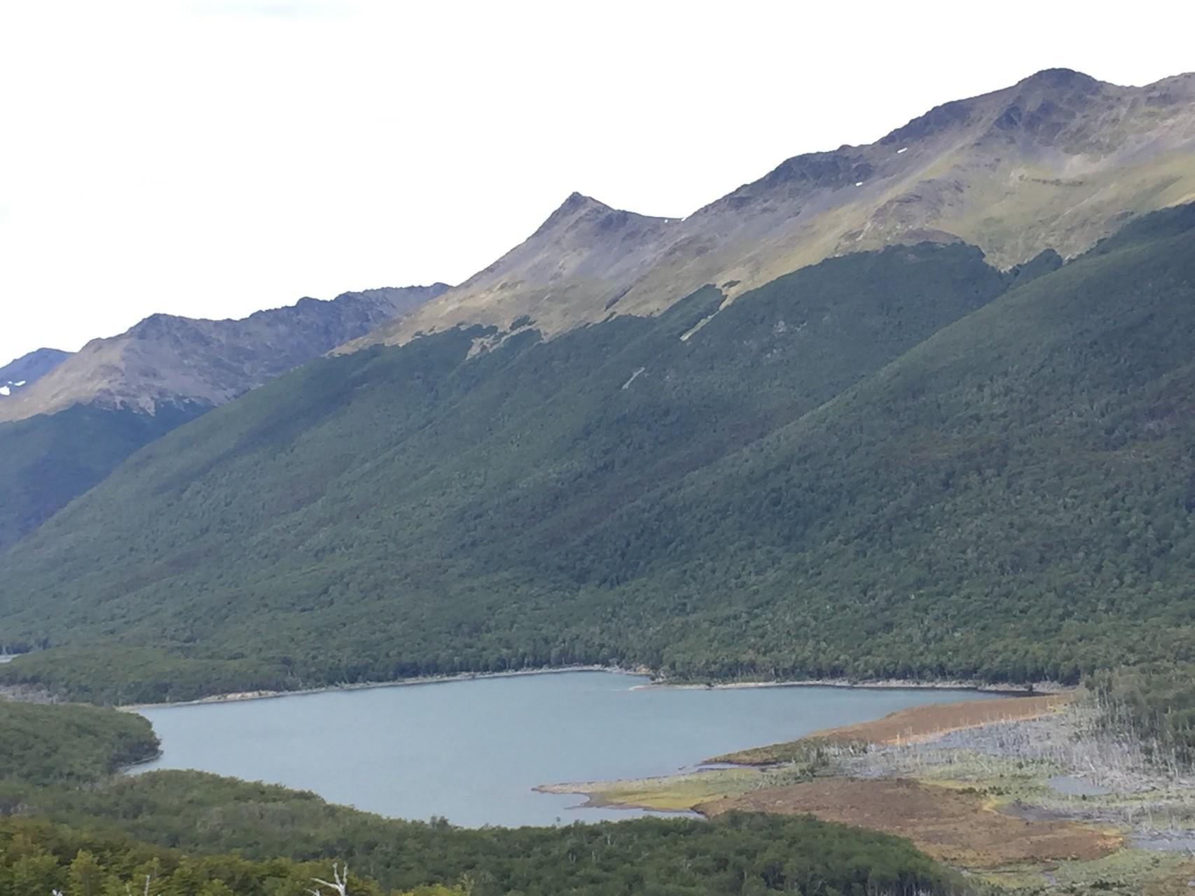 ...bis zum Lago Deseado