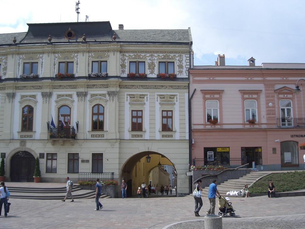 Presov, wunderschön restaurierte mittelalterliche Stadt