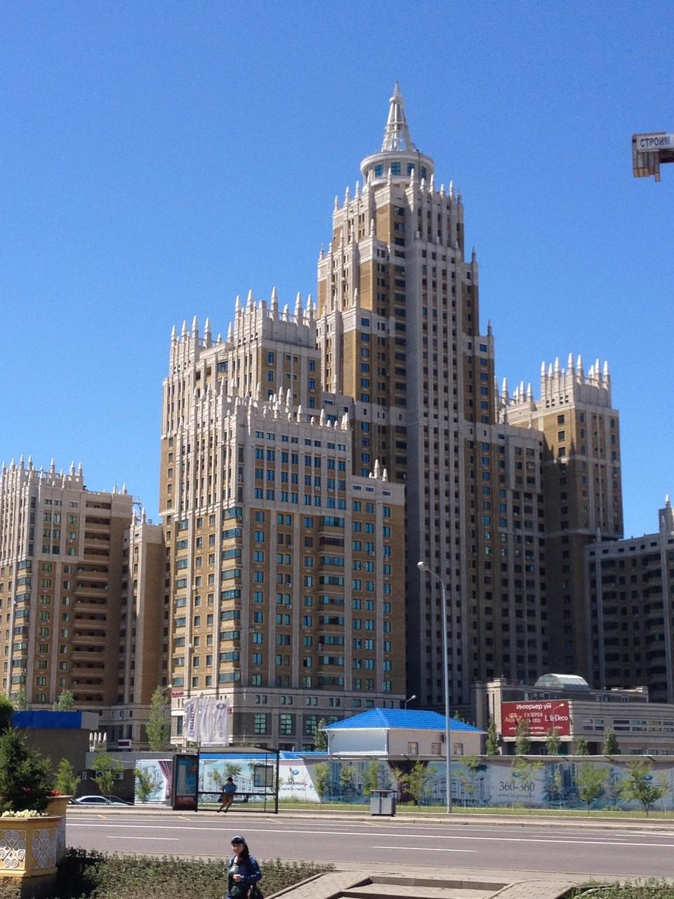 Astana und die Prunkbauten!