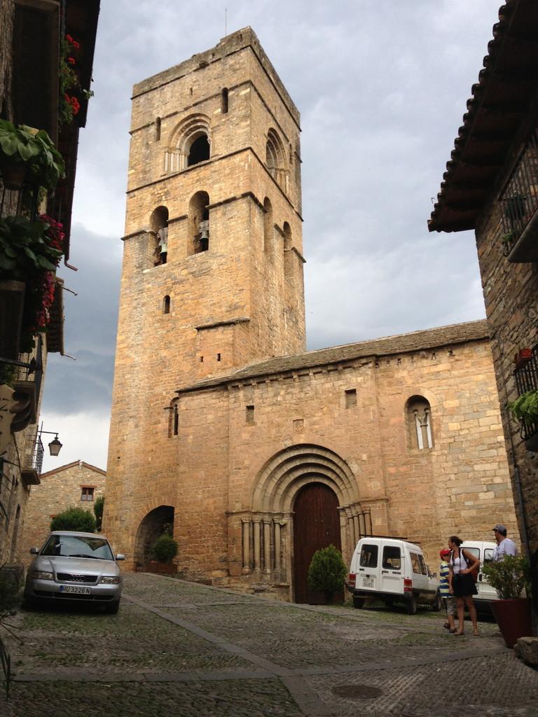 Kirche in Ainsa