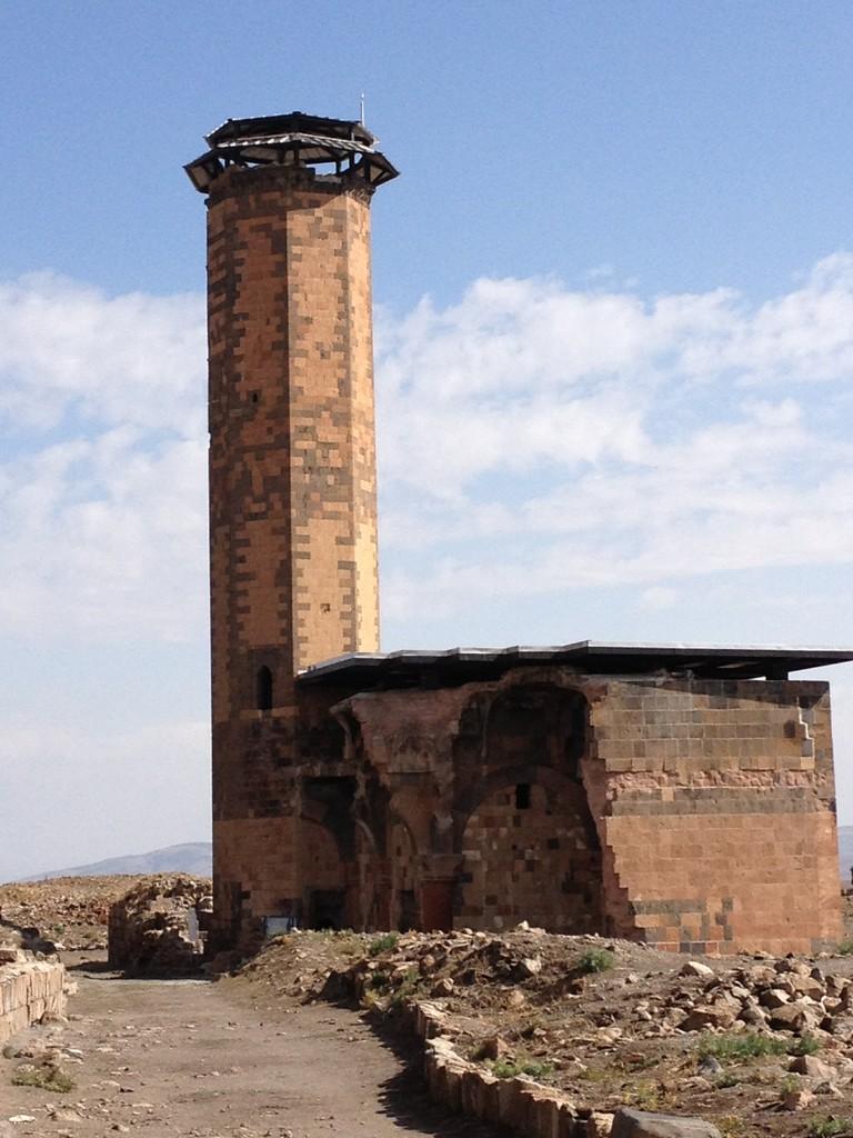 Erste Moschee in der Türkei in Ani