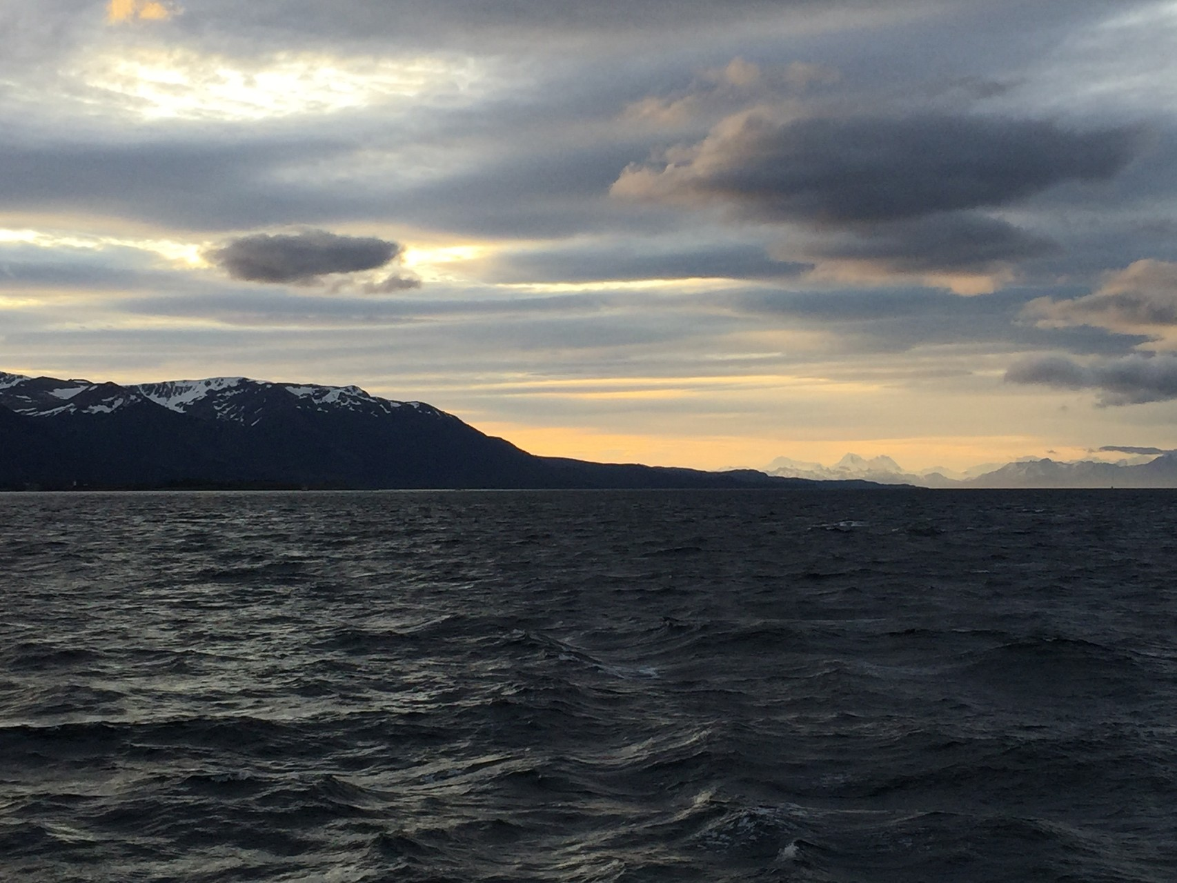 im Beagle Channel, Abendtimmung